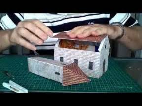How To Make A Church Out Of Paper - model railroad buildings construction of a scale church