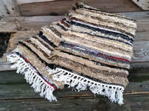 amish shaggy rag rug farmhouse fresh go green selvedged