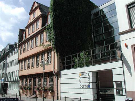 goethe haus frankfurt goethe museum y goethe haus frankfurt guia de alemania