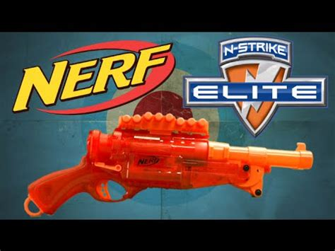 Nerf N Strike Elite Cut 2x4 Original Hasbro Sni range test cut vs barrel doovi
