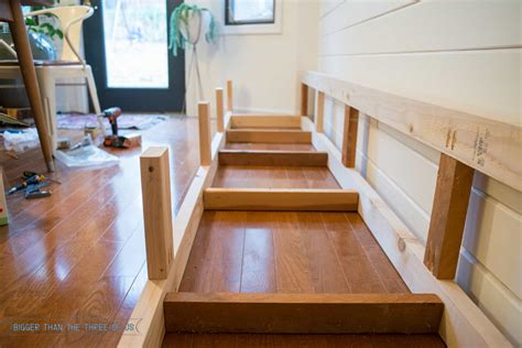 how to build banquette seating with cabinets built in banquette tutorial bigger than the three of us