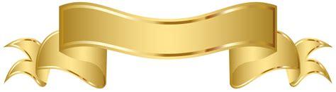 clip banner gold banner clipart golden banner clip png image