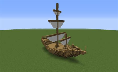 minecraft boat plans medieval ship 1 grabcraft your number one source for