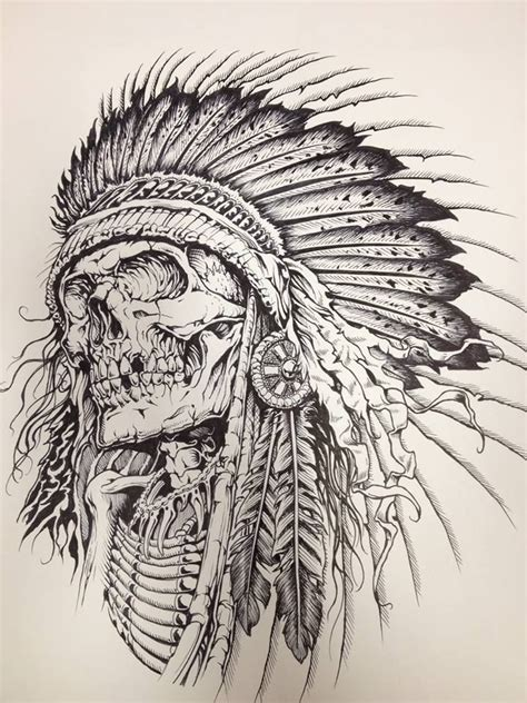 comanche tattoo designs skull more pins like this at fosterginger