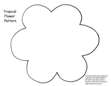 pattern for construction paper flowers flower construction paper pattern lena patterns