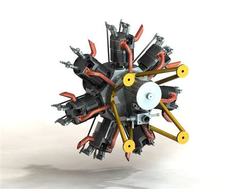how does a st louis motor work solidworks radial engine pictures to pin on