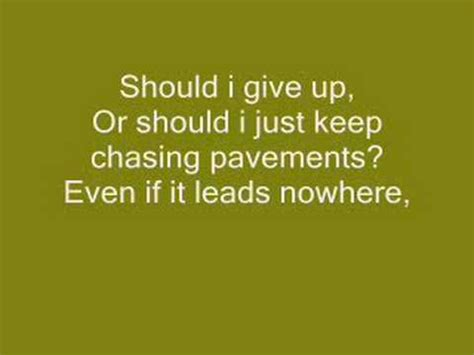 lyrics of adele i ll be waiting chasing pavements letra adele lyrics chasing pavements