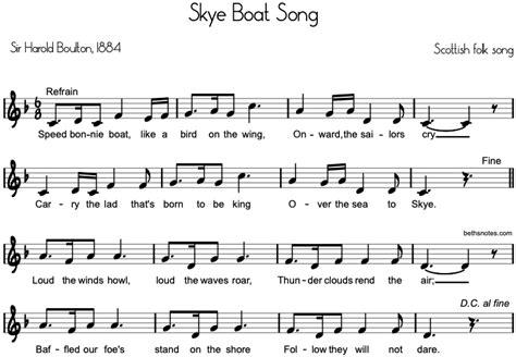 skye boat song espa ol history skye boat song