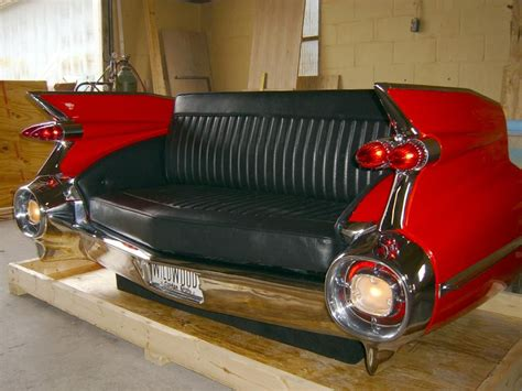 whos on the couch in cadilac comer ial 59 caddy i want this so bad garage man cave