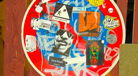 street art sticker   favorite quick graffiti solution