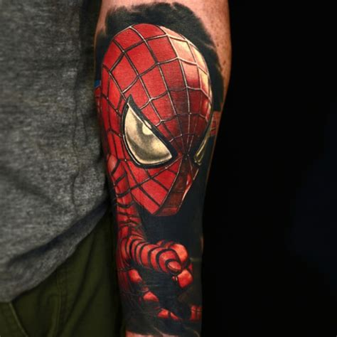 spiderman tribal tattoo realistic best design ideas