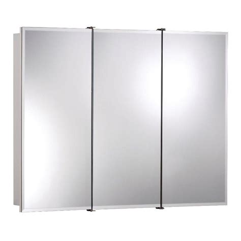 nutone medicine cabinets home depot ashland 36 in w x 28 in h x 4 3 4 in d frameless