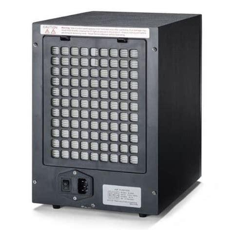 stage digital air purifier wremote black