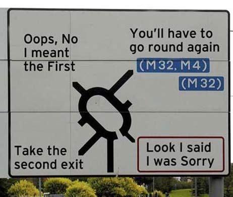 funny road signs — richardpettinger.com