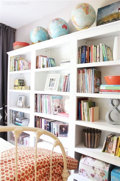 np library room booking a cozy guest room makeover with an easy home library created with three freestanding bookcases