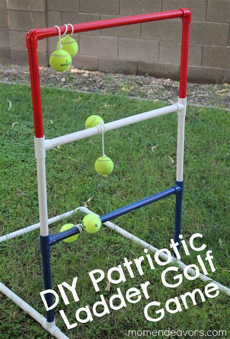 diy game diy patriotic ladder golf