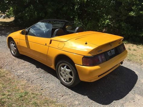 how cars run 1991 lotus elan electronic toll collection for sale 1991 lotus elan convertible