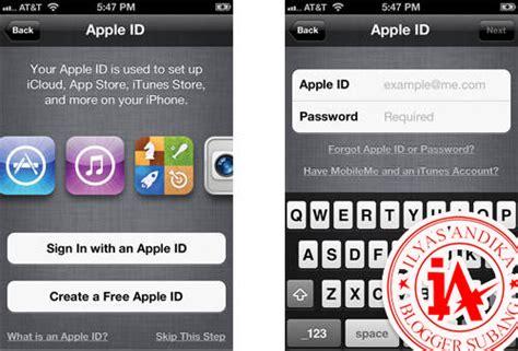 bagaimana cara membuat apple id di ipad cara membuat id apple quot gratis quot tanpa menggunakan kartu