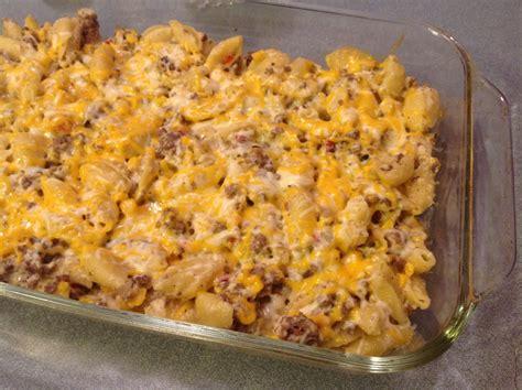 Ground Beef Main Dish Recipes - hamburger noodle casserole bigoven