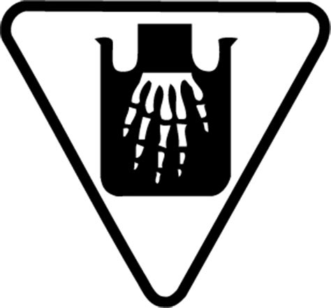 corrosive symbol clipart best