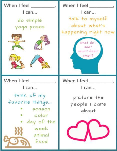 Coping Card Template by 58 Best Ideas About School Counseling Forms On
