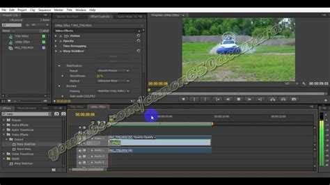 adobe premiere cs6 warp stabilizer image stabilization adobe premiere cs6 tutorial warp