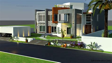 house design modern 2015 3d front elevation com oman modern contemporary villa 3d