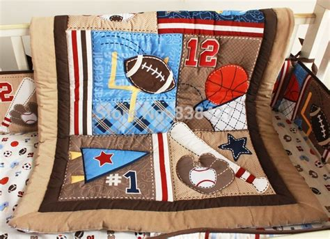 baby boy sports crib bedding compare prices on baby boy quilt online shopping buy low