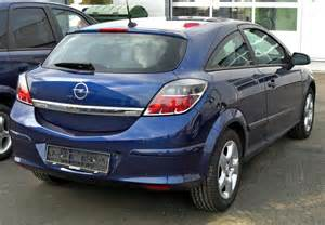 Opel Astra H 2009 2009 Opel Astra H Gtc Pictures Information And Specs