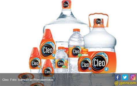 Air Kemasan Cleo Cleo Siapkan Belanja Modal Rp 200 Miliar Ekonomi Jpnn
