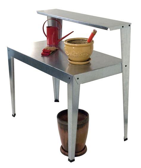 galvanized potting bench galvanized potting bench poly tex