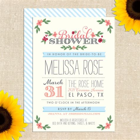 make free printable bridal shower invitations 6 best images of free printable bridal shower wedding
