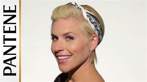 how to wear a bandana with short hair easy hairstyles for short hair bandana pin up pixie cut