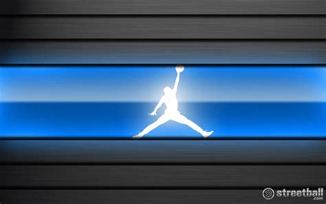 blue jordan wallpaper jordan logo backgrounds wallpaper cave