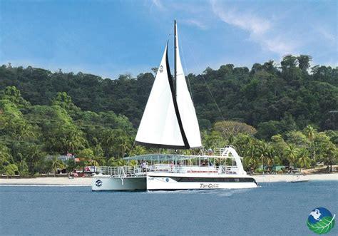 catamaran cost catamaran costa rica island adventure in manuel antonio