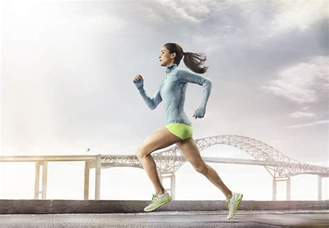 commercial girl running the new lunarglide 4 takes the everyday run to an elite