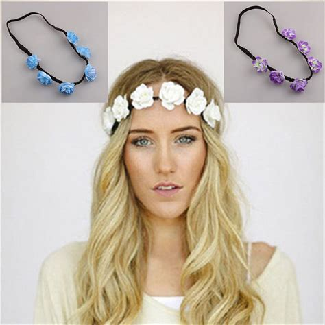 6 Beautiful Floral Headbands For And Summer by 1 Pc Wedding Bridesmaid Floral Flower Festival