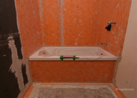 waterproofing systems for bathrooms bathtub shower c 233 ramiques hugo sanchez inc