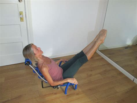 chair  supports  body  abdominal