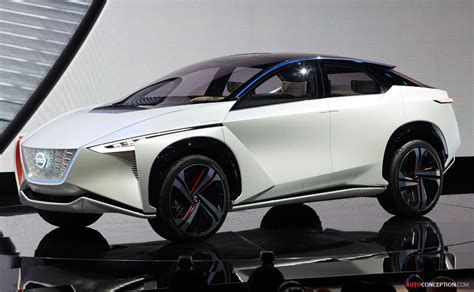 Nissan Leaf Suv 2020 by Nissan Imx Concept Points To Future Leaf Suv