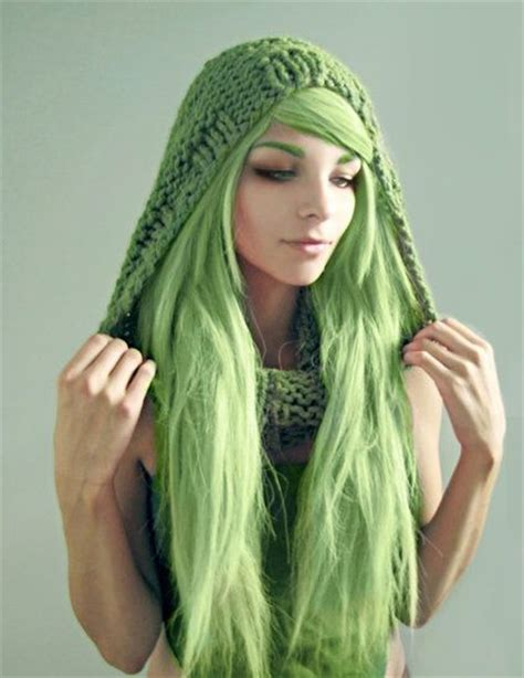 Light Green Hair 14 fresh hair color ideas that will make you want to dye