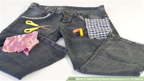 naughty cut off shorts how to make dirty denim distressed cut off shorts 13 steps