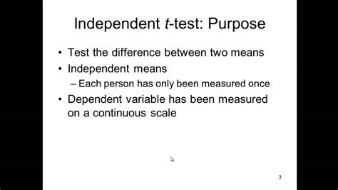 brief you meaning independent t test explained simply
