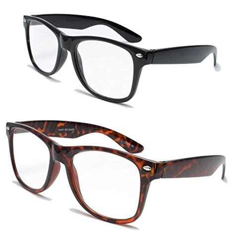 save 57 2 pairs deluxe wayfarer style reading glasses