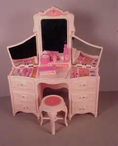 vanity playset vintage doll furniture vanity playset glow 1980 s