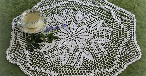 crochet doilies pattern free lacy crochet lily of the valley doily free vintage pattern