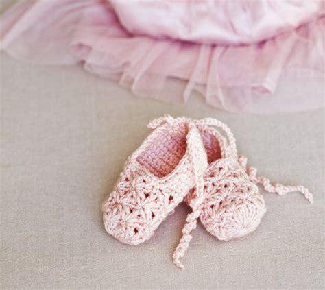crochet baby ballet slippers free pattern crochet ballerina shoes free baby bootie pattern