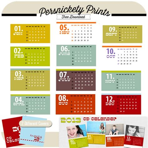 cd calendar template free 2013 cd calendar template from persnickety prints