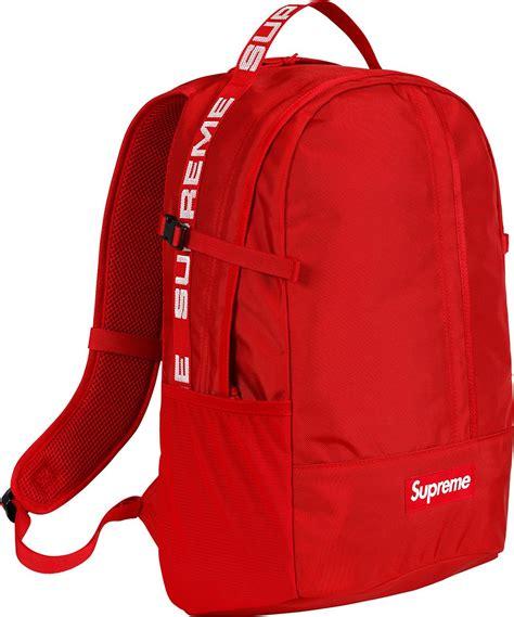 supreme backpack supreme リュック 18ssモデルの所有者レビュー ウエストバッグ ショルダーバッグなど