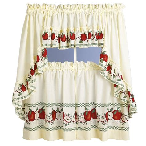 kitchen curtains kitchen curtains with apples kitchen design photos